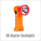 90 degree flashlights