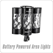 Battery Powered Area Lights